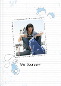 Fotobuch - Schablone Be Yourself