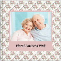 Fotoalbum - Floral Patterns - Pink